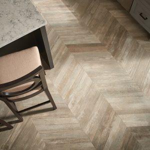 Glee chevron tile flooring | The Carpet Factory Super Store